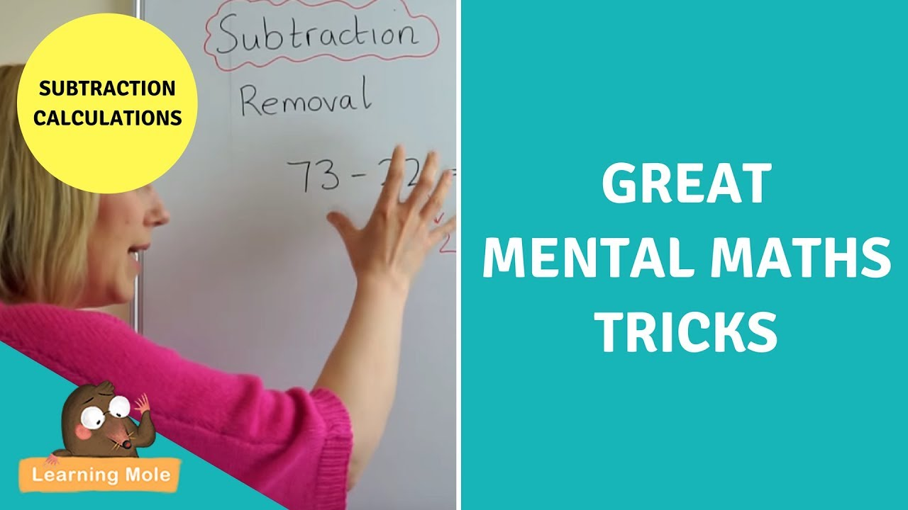 Mental Math for Kids - Subtraction for Kids - YouTube