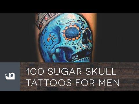 100 Sugar Skull Tattoos For Men