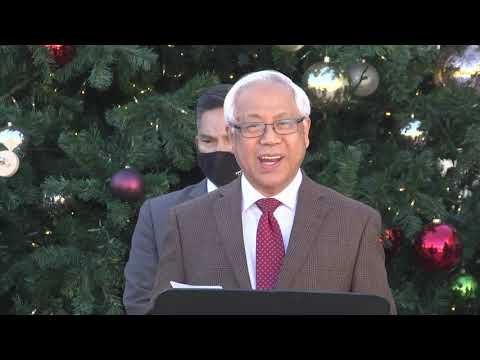 Chiêm Ngưỡng Giáng Sinh,    Mục sư Nguyễn Thỉ.    Hội Thánh tin Lành Orange