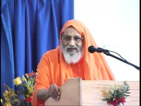 Swami Dayananda Saraswati ji - Action & Reaction (21st Gurukulam Anniversary Talk)