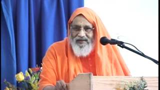 Swami Dayananda Saraswati ji - Action & Reaction (21st Gurukulam Anniversary Talk)