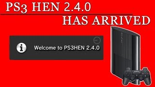 PS3 HEN 2.4.0 Has arrived - PS3 Latest HEN Tutorial