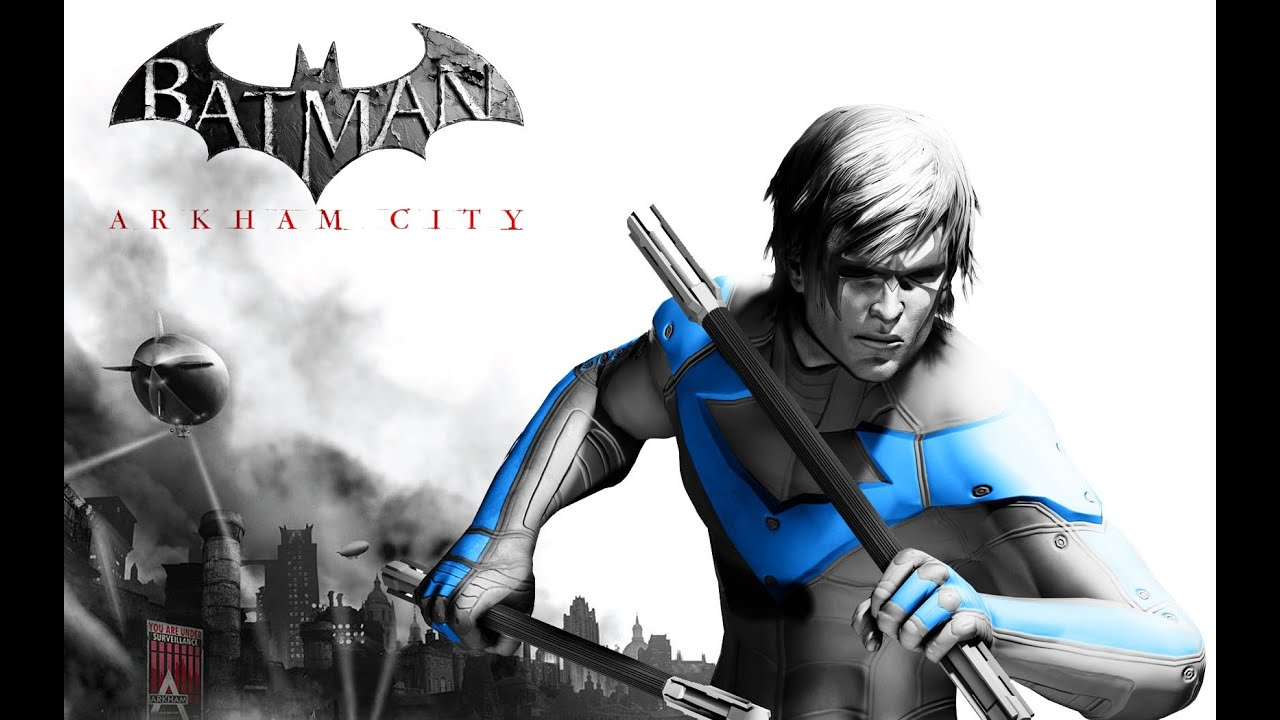 Batman Arkham City - Nightwing Free Roam with download ...