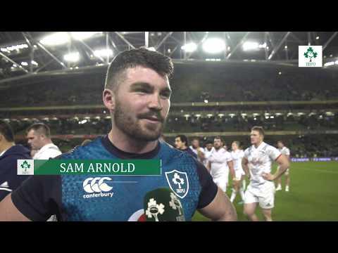 Irish Rugby TV: Sam Arnold On His Ireland Debut