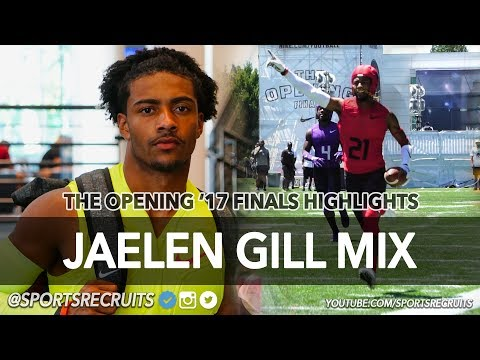 Jaelen Gill: Ohio State RB Commit - The Opening Finals Ultimate Highlights (Westerville HS, OH)