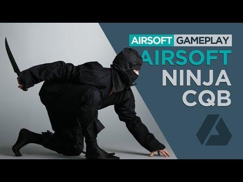 CQB Airsoft Ninja | Tomahawk & Knife Silent Gameplay - TS Blades