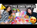 NAMIGAY NG SCHOOL SUPPLIES! 📚✏️ | Princess And Nicole