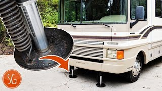 How to fix your RV leveling jack // Powergear 500082