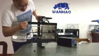 Wanhao Duplicator i3v2.1 adding rubber feet