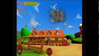 Blind Play - Chicken Blaster - Wii - Gameplay with Commentary