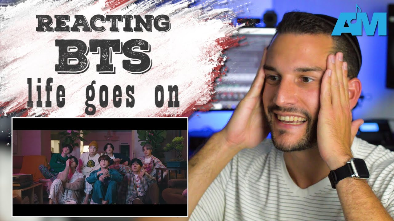 VOCAL COACH reacts to BTS singing LIFE GOES ON