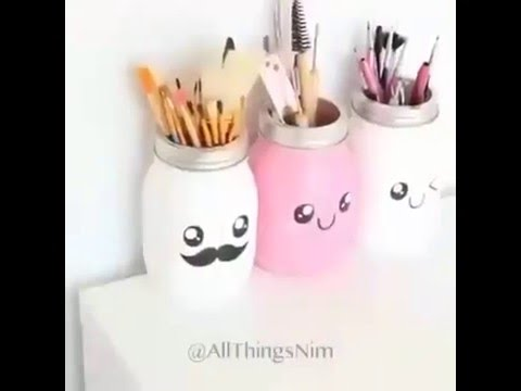 Use waste material to make decorative goods youtube for Best use of waste