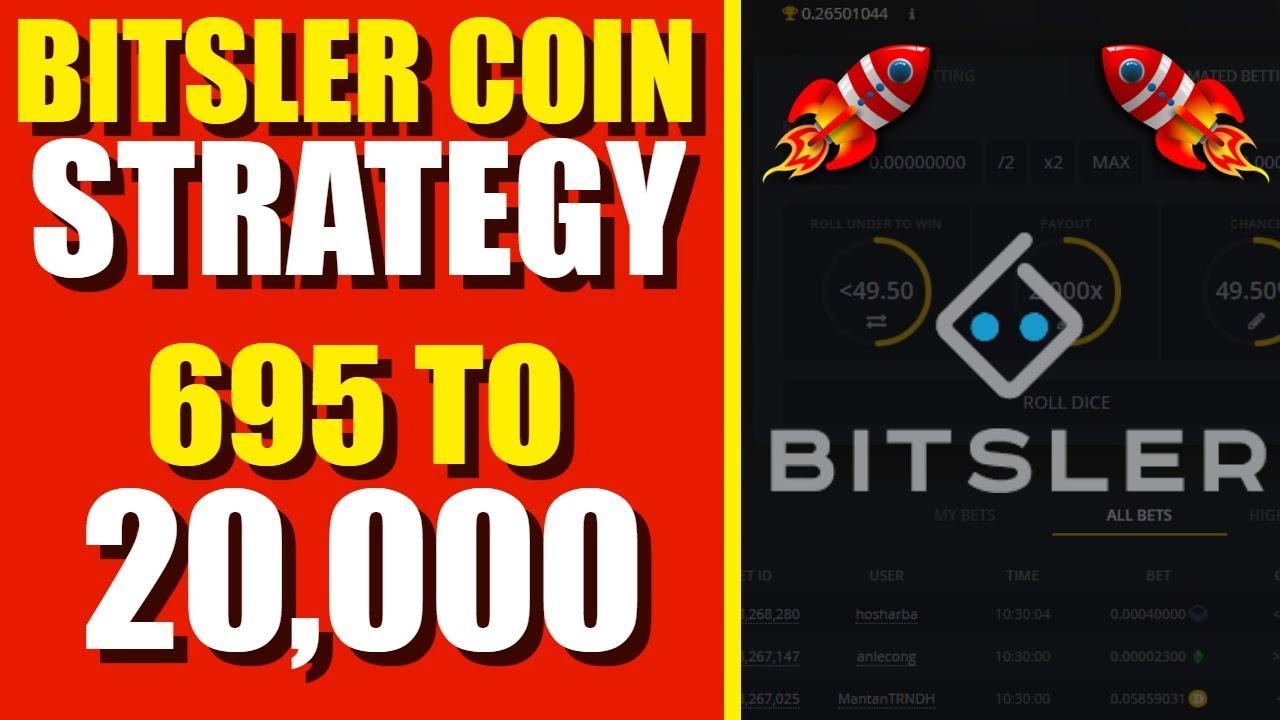 bitsler bitcoin stratégia