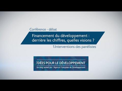 Financement du développement : derrière les chiffres, quelles visions ? (1/3)