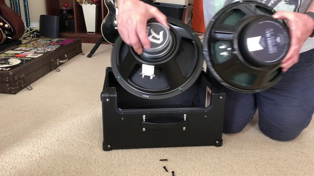 Replacing Speaker Boss Katana 50