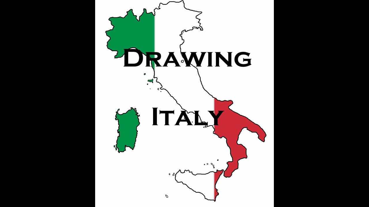Drawing Italy By Spanish Mapper