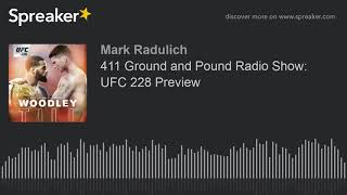 411 Ground and Pound Radio Show: UFC 228 Preview