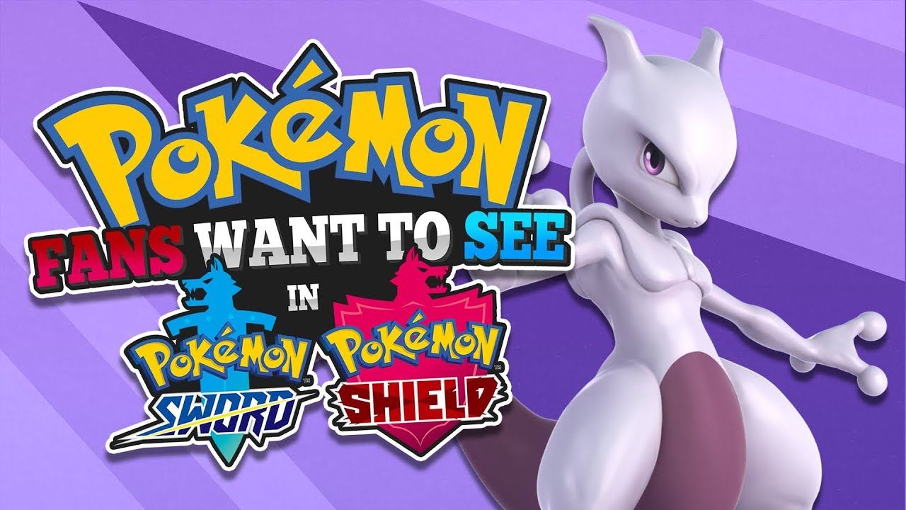 All Pokemon Everyone Wants To See In Pokemon Sword And Shield Youtube