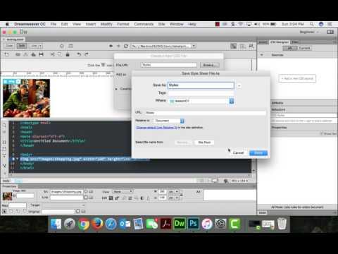 Centering Images in Dreamweaver CC