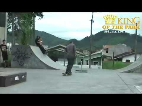 campeonato de skate  KING OF THE PARK Guaramirim