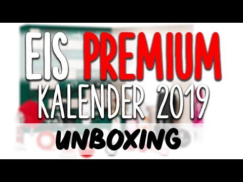 EIS Premium Adventskalender 2019 Inhalt UNBOXING