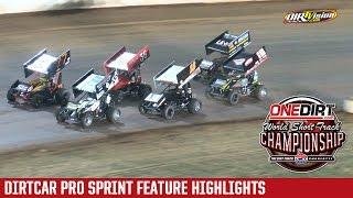 Charlotte Motor Speedway DIRTcar Pro Sprint Highlights