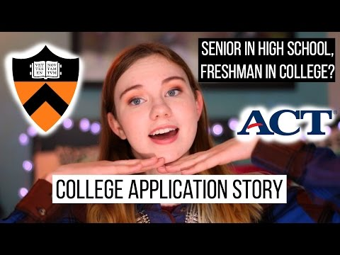 College Application Story // ChaoticCouture