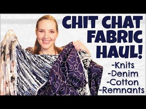 Fabric Haul 2018 | Let's Chat: Deals, Sewing Ideas, Olympics, & more!