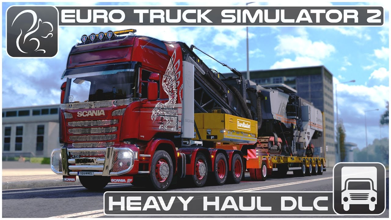 Euro Truck Simulator 2 Heavy Haul Dlc First Look Youtube