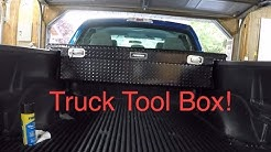 Husky low profile truck tool box