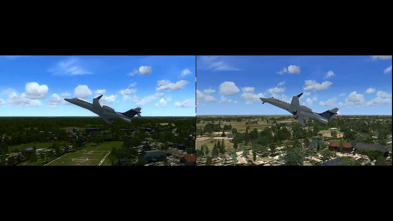 FSX:- OrbX FTX vs Ground Environment X vs Google Earth