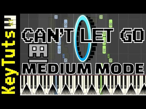 Learn To Play Can't Let Go From Geometry Dash - Medium Mode
