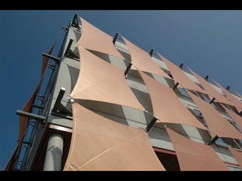 Навесная стена в Archicad 21. Тентовая панель навесной стены. curtain wall archicad
