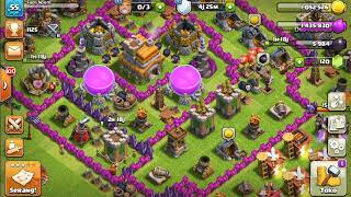 Clash Of Clans!!!Penyerangan Yg Gagal☺☺☺