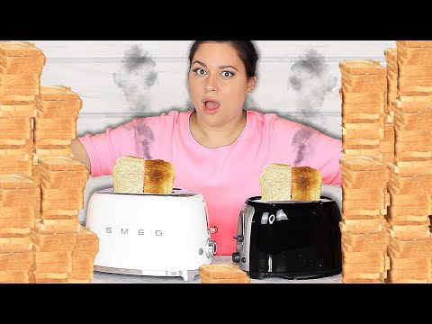 I Toasted 200 Slices Of Bread - $200 Toaster vs $20 Toaster