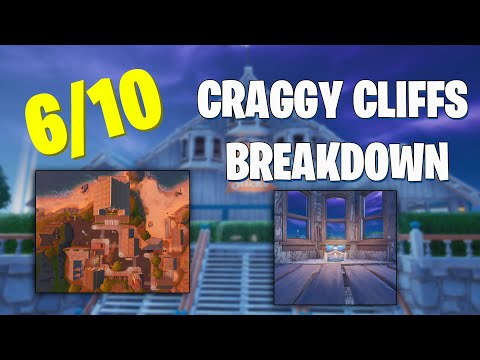 "Craggy Cliffs Loot Breakdown! ""Is This The Best Place To Land?"" (Chapter 2 P.O.I Breakdown)"