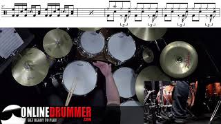 Tom Groove - Should I Stay or Should I Go - Drum Lesson