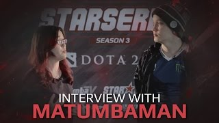 Interview with Matumbaman, SL i-League StarSeries Season 3 Finals