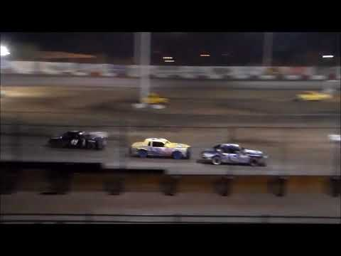 IMCA Stock Car Main Event - Tulare Thunderbowl Raceway - 10.7.17
