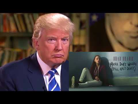 Donald Trump - Reacts To BHAD BHABIE