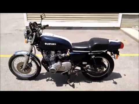 1977 suzuki gs750 - youtube