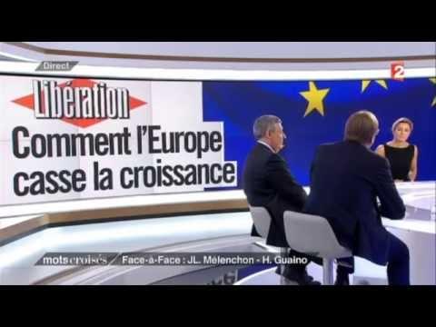 Mots croisés : Gros clash Mélenchon vs Guaino vs le Belge Guy Verhofstadt
