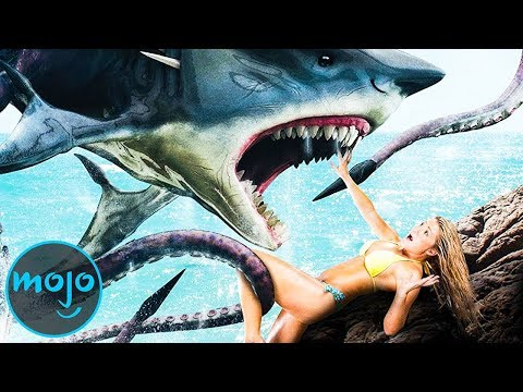 Top 10 Ridiculous Shark Movies thumbnail