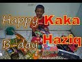Happy Birthday Kaka Haziq