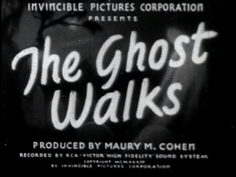The Ghost Walks (Frank R. Strayer, 1934)