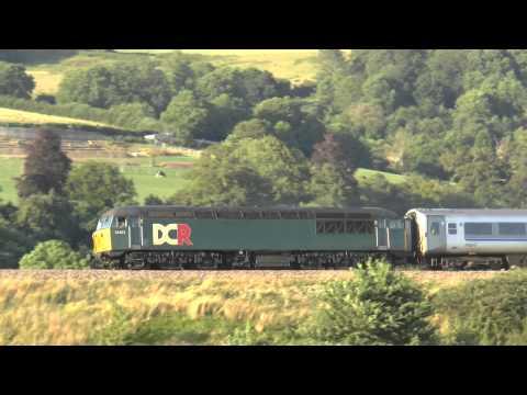 56303 + Chiltern coach, 5z34 @ Newton st Loe 02-08-14