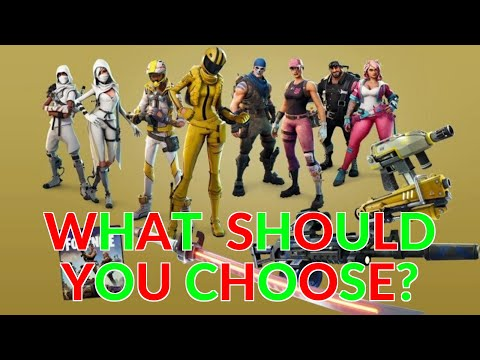 Fortnite Save The World | Limited Edition | Which Hero Should You Choose?