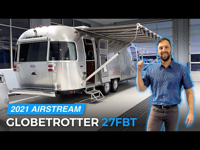 ULTIMATE LUXURY CAMPING | 2021 AIRSTREAM Globetrotter 27FBT Twin Full Walk Through