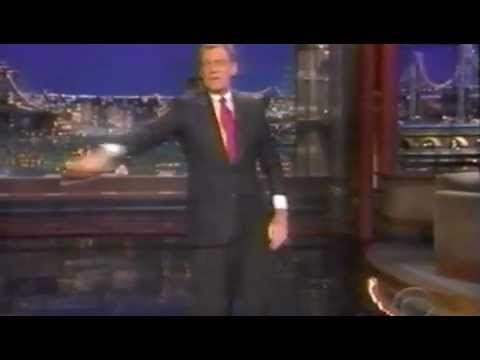 Streits on Letterman 1998