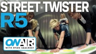 R5 Plays Street Twister | On Air with Ryan Seacrest